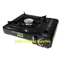 Fishing portable Gas Stove with gas for bivvy Free Post