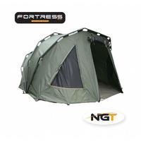 2 Man Fortress Double Skin Triple Ribbed Carp Bivvy High Quality