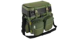 Fishing Seat Box & Harness Carry Straps Rucksack Converter